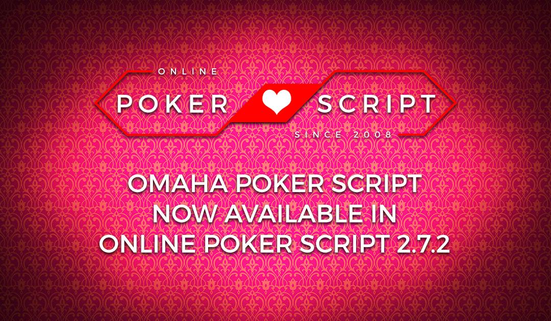 Omaha Poker Script – OPS 2.7.2